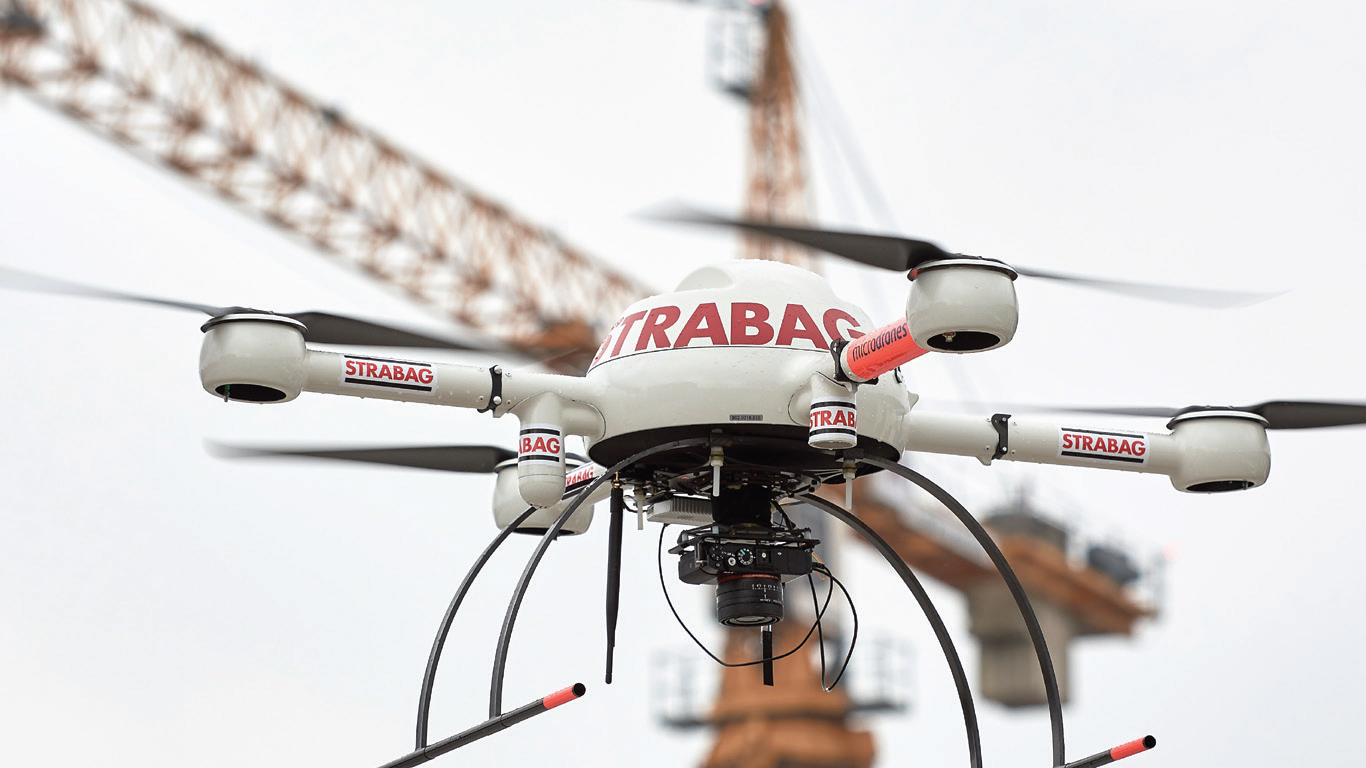 MANAGING CONSTRUCTION SITES with MICRODRONES - Microdrones