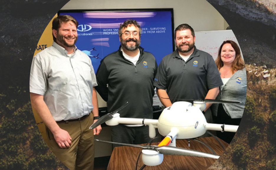 WORK SMARTER WITH NEI AND MICRODRONES®