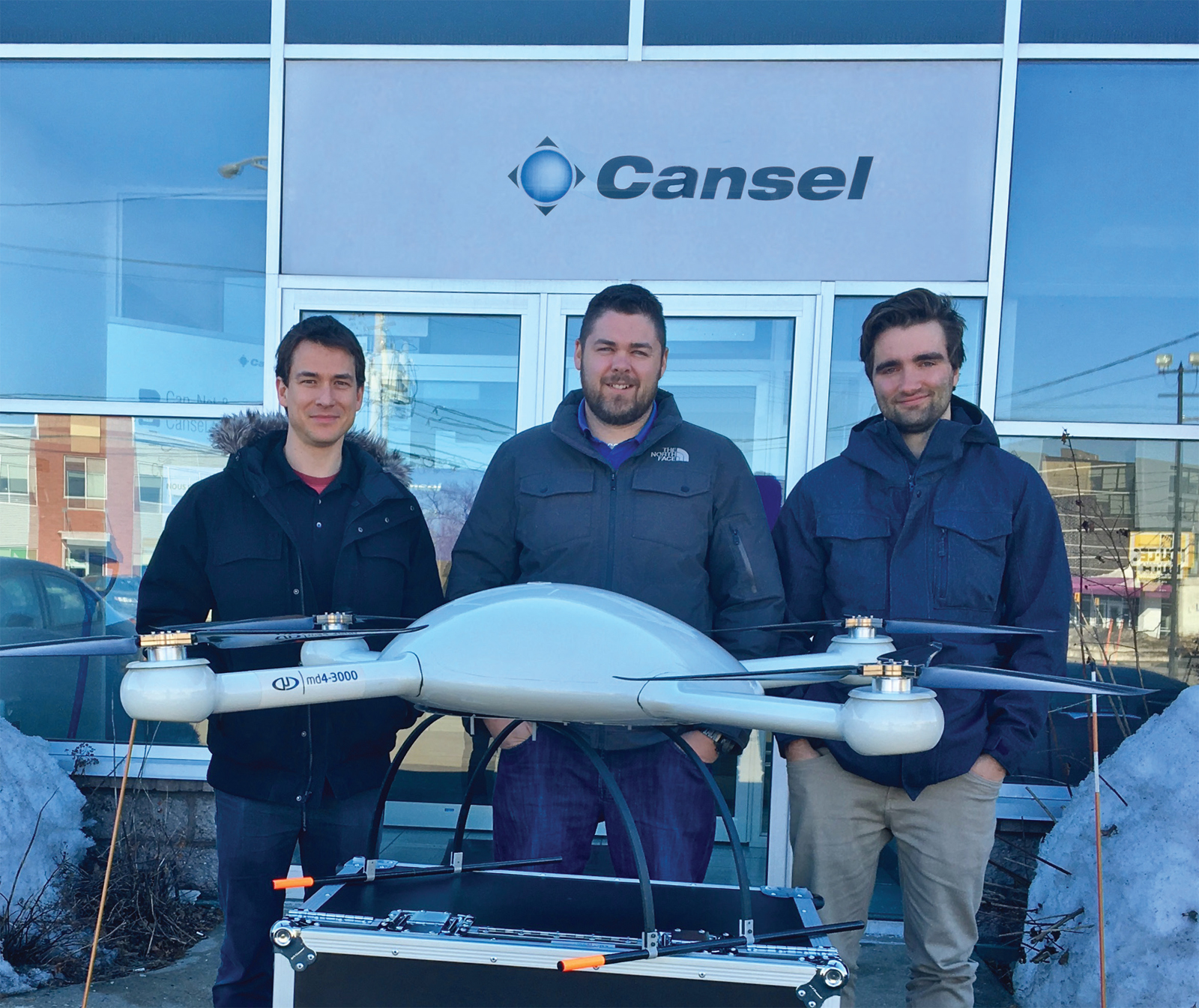 WORK SMARTER WITH CANSEL AND MICRODRONES®